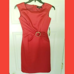 Alex Marie red dress size 2
